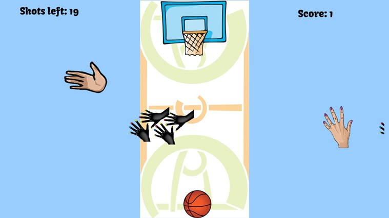 Basketball Block Out screen shot 2