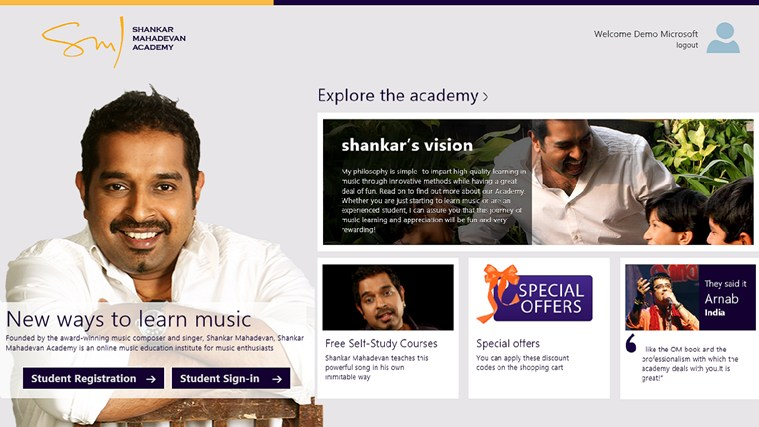 Shankar Mahadevan Academy screen shot 0