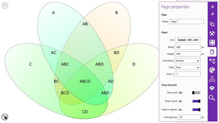 Grapholite - Diagrams, Flow Charts and Floor Plans Designer screen shot 4