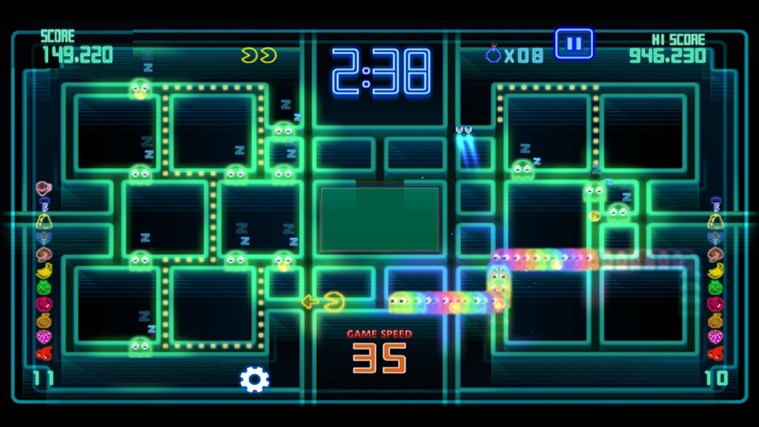 PAC-MAN Championship Edition DX+ screen shot 2
