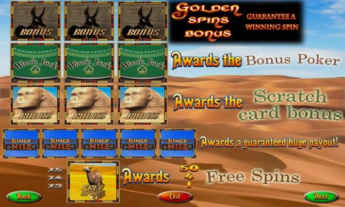 king of the nile slot machine free