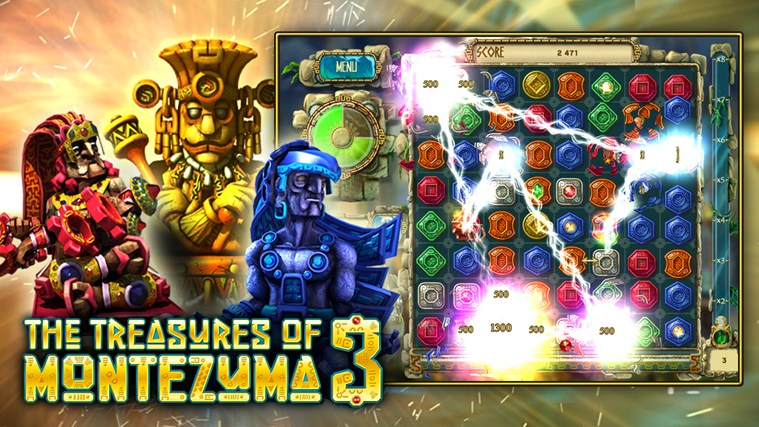 The Treasures of Montezuma 3 Premium screen shot 0