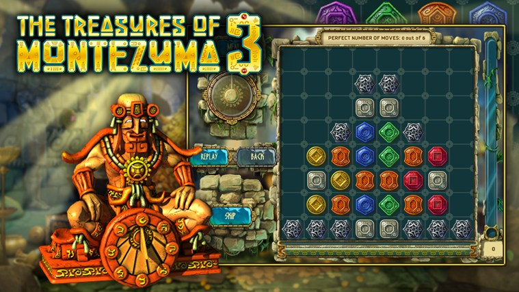 The Treasures of Montezuma 3 Premium screen shot 2