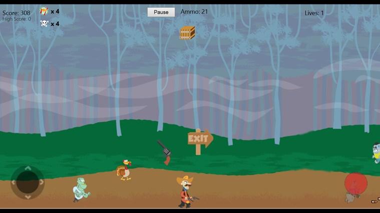 Turkeys & Zombies screen shot 0
