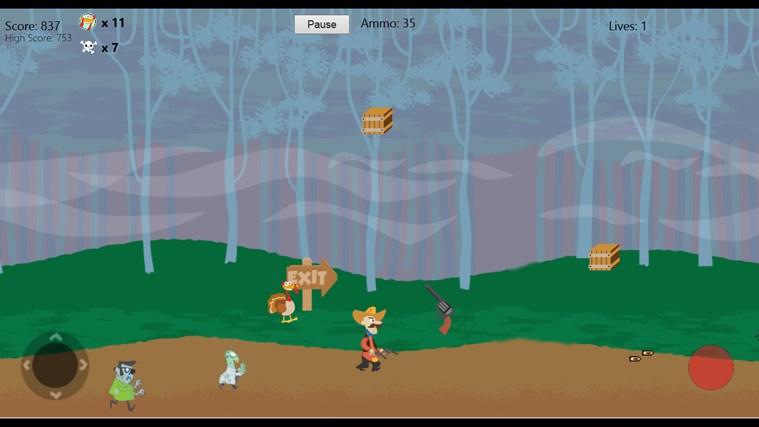 Turkeys & Zombies screen shot 2