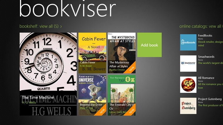 Bookviser screen shot 0