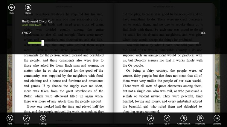 Bookviser screen shot 4