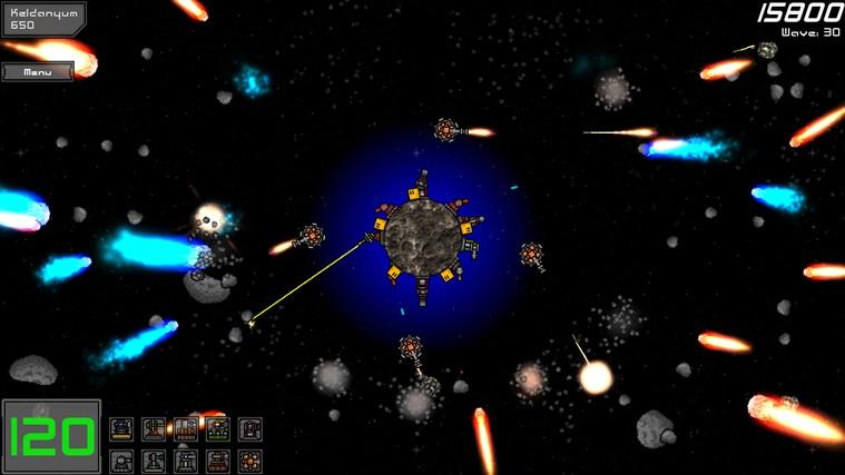 Planetoid Defense screen shot 0