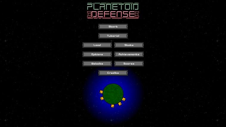 Planetoid Defense screen shot 8