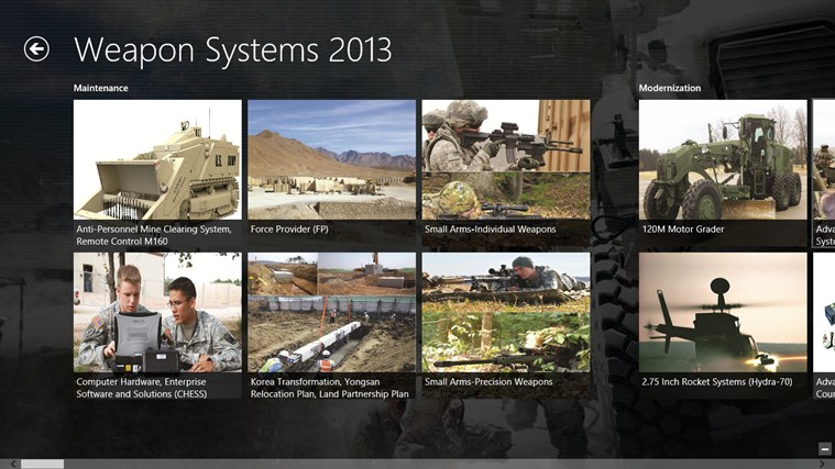 Army Weapon Systems Handbook screen shot 4