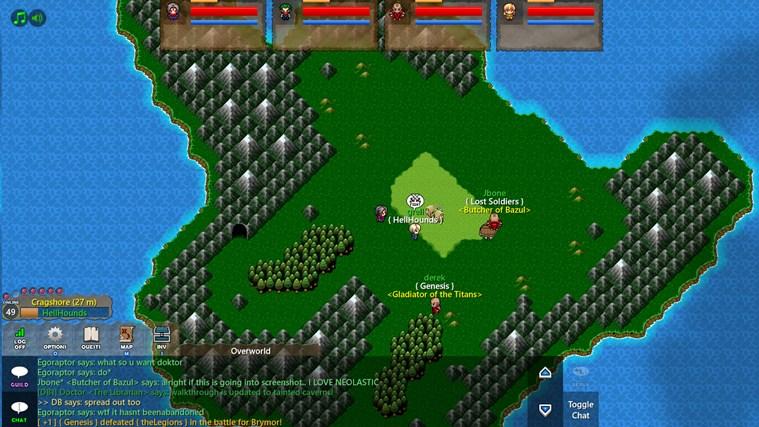 Dragon's Blade for Win8 UI full screenshot