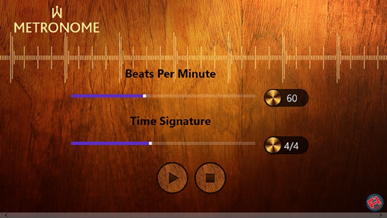 Metronome screen shot 0