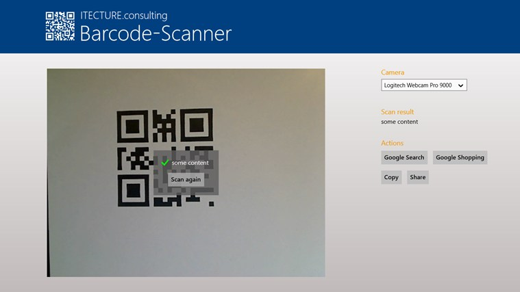Barcode-Scanner screenshot 2