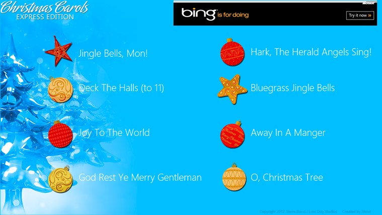 Christmas Carols Express screen shot 0