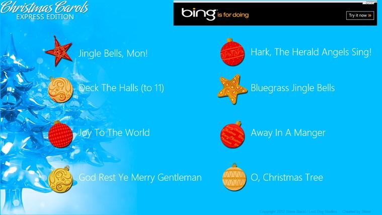 Christmas Carols Express screen shot 0