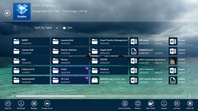 All My Storage Pro screen shot 2