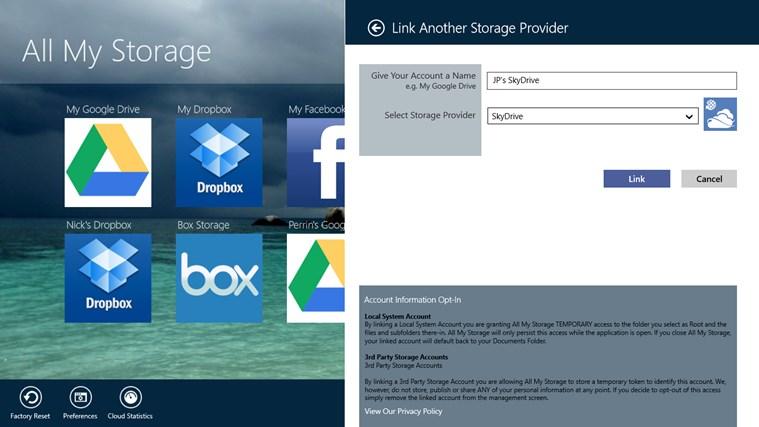 All My Storage Pro screen shot 4
