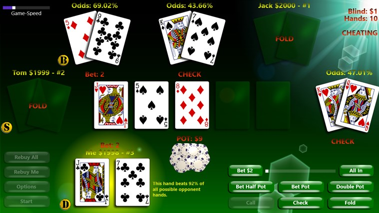 PlayPoker - Texas Hold'em screen shot 2
