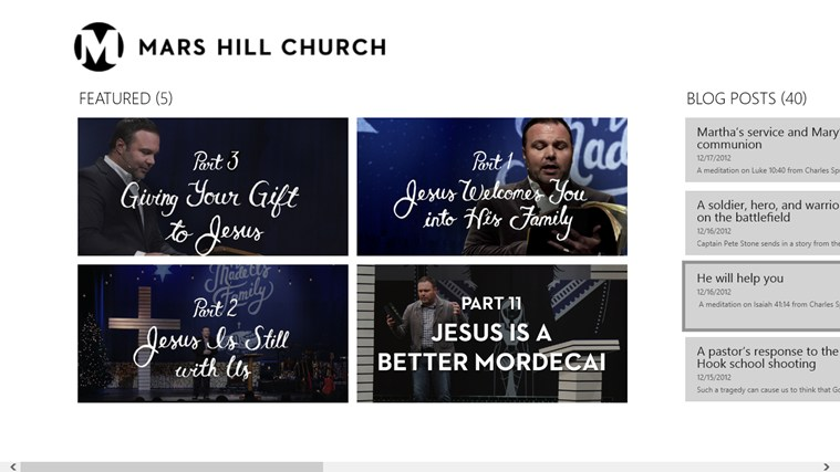 Mars Hill Church screen shot 0