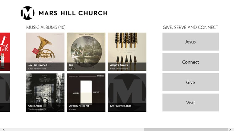 Mars Hill Church screen shot 2