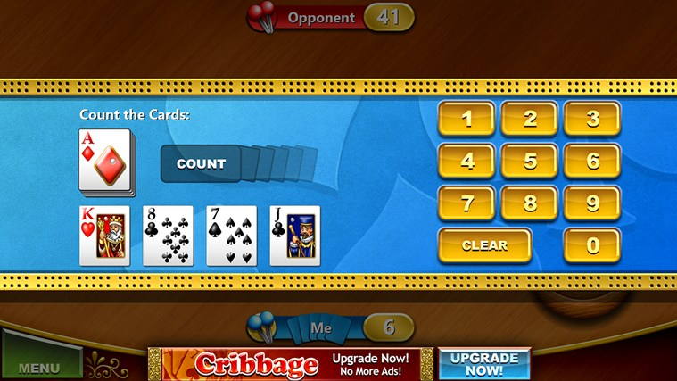Cribbage Free screen shot 4
