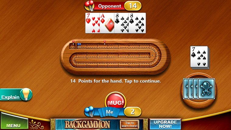 Cribbage Free screen shot 6