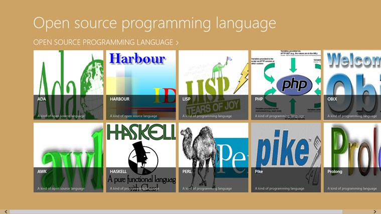 Open Source Programming Language. captura de tela 0