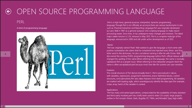 Open Source Programming Language. captura de tela 2