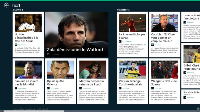 Goal.com capture d'écran 0