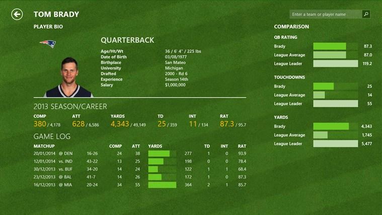 Bing Sport screen shot 4