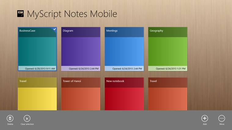 MyScript Notes Mobile screen shot 0