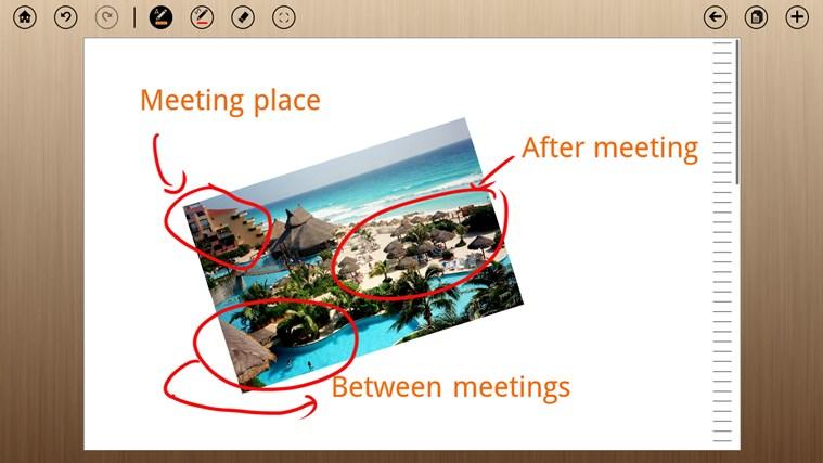MyScript Notes Mobile screen shot 4