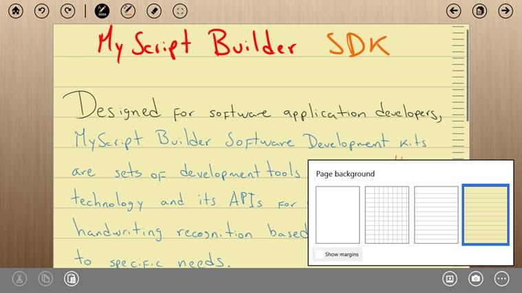 MyScript Notes Mobile screen shot 6