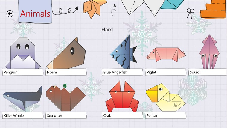 Origami HD screen shot 4