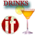 Drinks Recipes mobile app icon