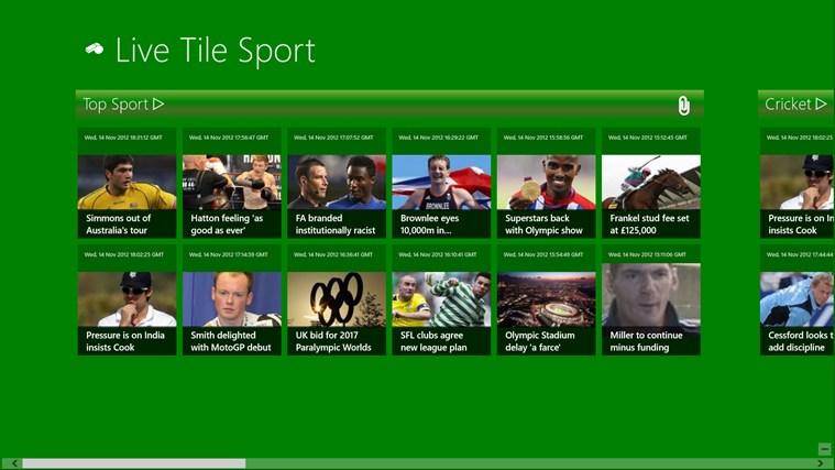 Live Tile Sport