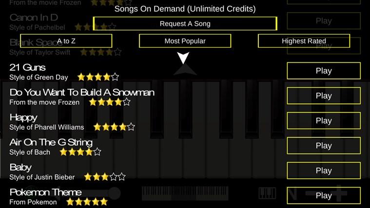 Mini Piano ® petikan skrin 4