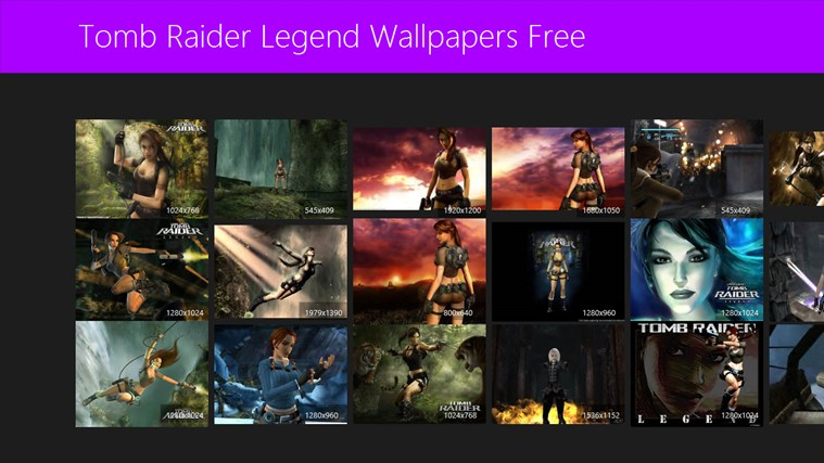 Tomb Raider Legend Wallpapers Free screen shot 0