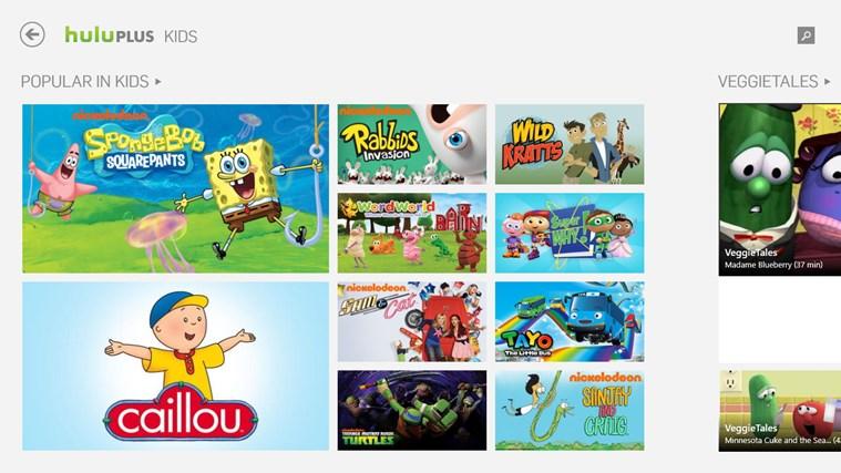 Hulu Plus screen shot 2