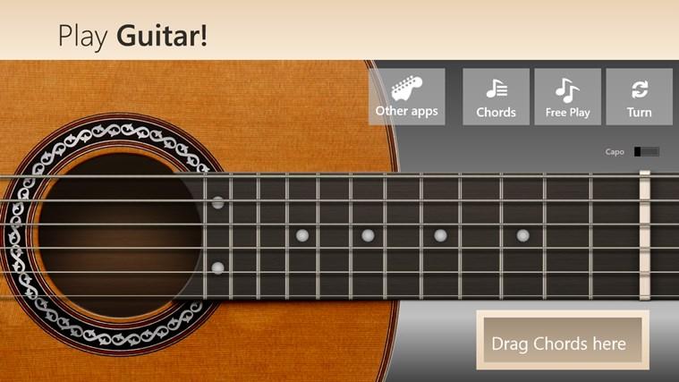 Play Guitar! screen shot 0