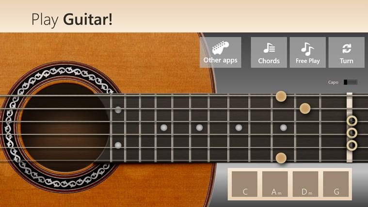 Play Guitar! screen shot 2