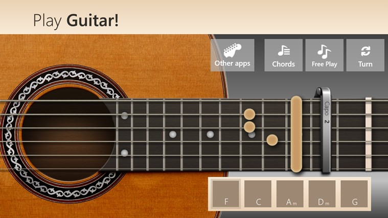 Play Guitar! screen shot 4