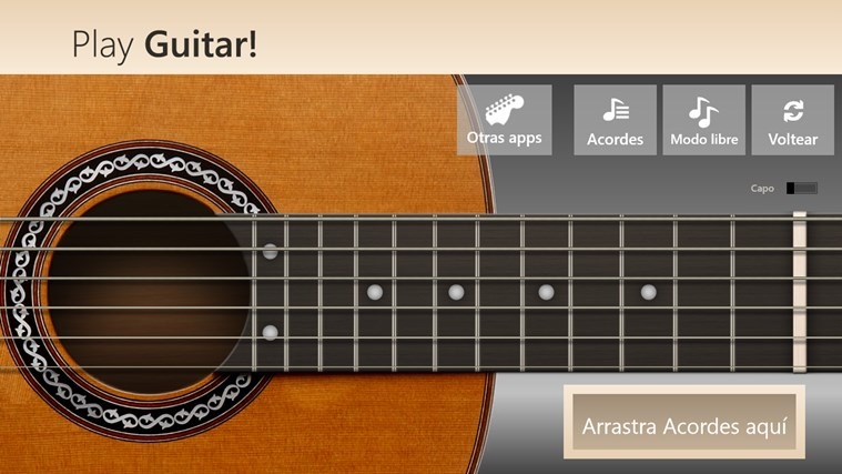 Play Guitar! captura de pantalla 0