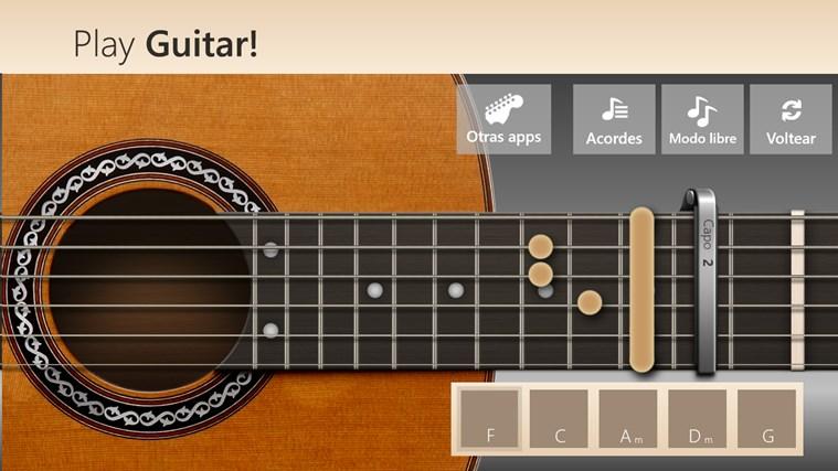 Play Guitar! captura de pantalla 4