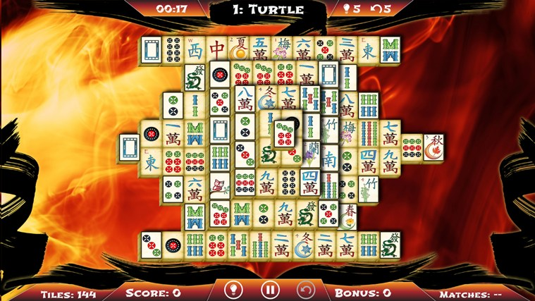 Mahjong Solitaire screen shot 4