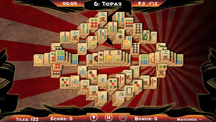 Mahjong Solitaire screen shot 6