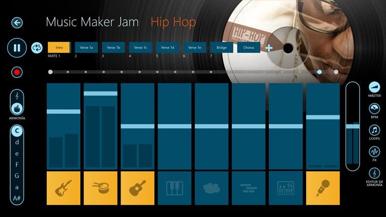 Music Maker Jam captura de pantalla 2