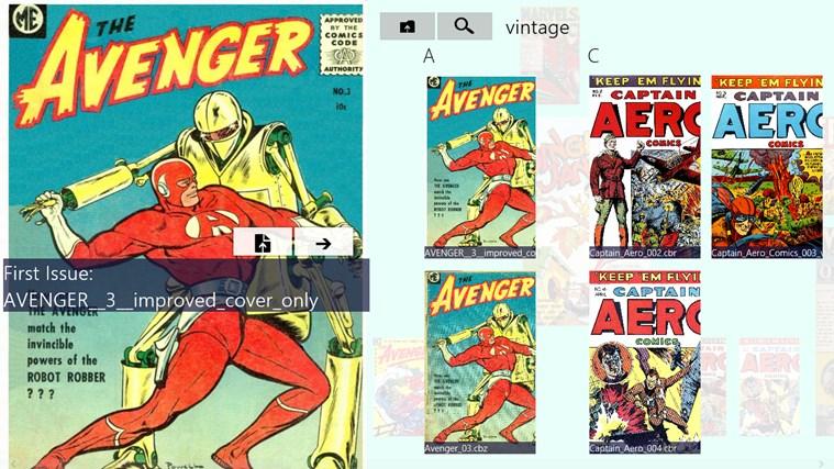 comics Jolt! screen shot 0