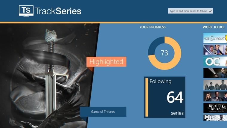 TrackSeries اسکرین شاٹ 2