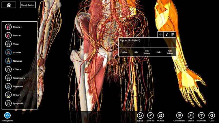 Essential Anatomy 3 screen shot 2